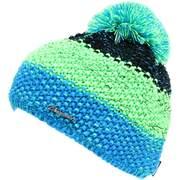 Caciula pentru Barbati Blizzard Tricolor, Black/green/blue-melange