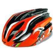 Casca bicicleta pentru Barbati SH+ NATT, Orange/silver