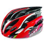 Casca bicicleta pentru Barbati SH+ NATT, Red/white