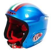 Casca ski pentru Femei SH+ KING RACER EVO 4FF, Blue/flag