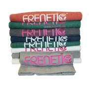 Frenetic Prosop bumbac, fitness, brodat, TOWEL-06-21, Gri