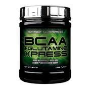 Complex de aminoacizi Scitec Nutrition BCAA + Glutamine Xpress 300g , Lime
